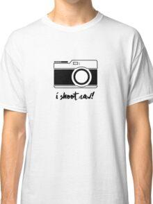 I Shoot Raw! Classic T-Shirt