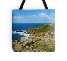 Lands End, Cornwall in May Tote Bag