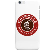 Chipotle Logo iPhone Case/Skin