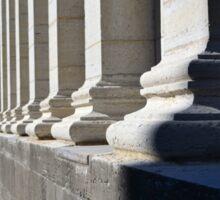Ionic Column Feet, Dayton Courthouse Sticker