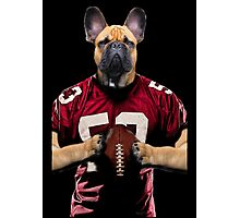Chop american football color Photographic Print