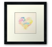 A Colorful Hearth Framed Print