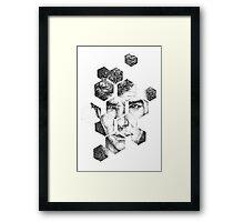 Sherlock - I made me Framed Print