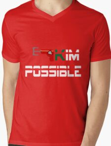 Kim Possible  Mens V-Neck T-Shirt