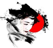 Japanese Geisha by vivalarevolucio