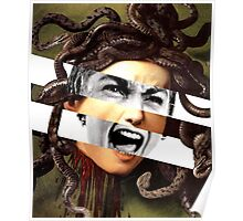 Caravaggio's Medusa & Psycho Poster