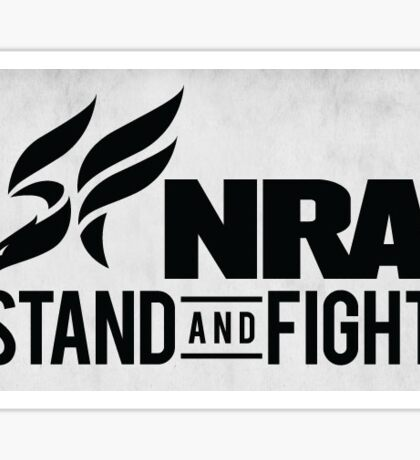 NRA Stand and Fight Sticker