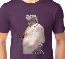 Wolf Grandma Man Texting Unisex T-Shirt
