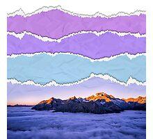 Mountain layers Photographic Print