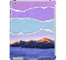 Mountain layers iPad Case/Skin