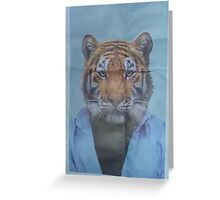Tiger Sensei Greeting Card