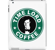 Time Lord Coffee iPad Case/Skin
