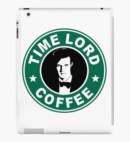 Time Lord Coffee iPad Case/Skin