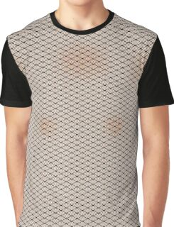 Fishnets and Pale Skin Texture Graphic T-Shirt