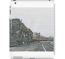 Engine 6606 Makes a Station Stop iPad Case/Skin