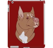 Pit Bull Pride- Red Point iPad Case/Skin