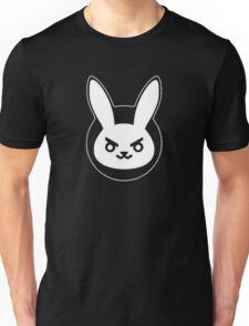 Determined White Rabbit Unisex T-Shirt