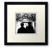 Sherlock - Baskerville Framed Print