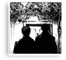 Sherlock - Baskerville Canvas Print