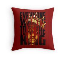 Biggie King - Luke Cage Throw Pillow