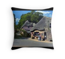 Heart of the Village Throw Pillow