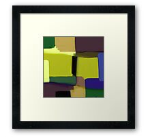 Simply Abstract Framed Print