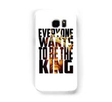 Biggie King (Transparent) - Luke Cage Samsung Galaxy Case/Skin
