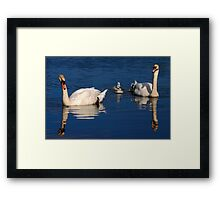Meet the Family Framed Print