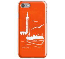 Home in Orange iPhone Case/Skin