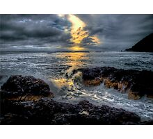 It's All In A Days Work ~ Oregon Coast ~ Photographic Print