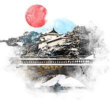 Japan Imperial Palace by vivalarevolucio