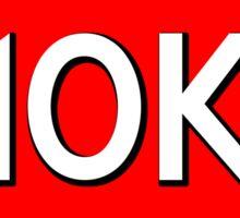 HALF MARATHON 10K RUNNING WALKING JOGGING GOOD GIRLS DON'T GO ALL THE WAY 13.1 5K 26.2 Sticker