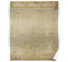 United States Declaration of Independance Poster
