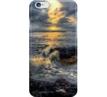 It's All In A Days Work ~ Oregon Coast ~ iPhone Case/Skin