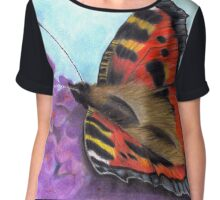 Butterfly Chiffon Top