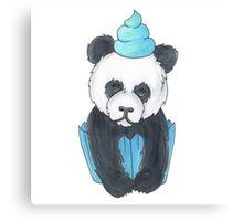 Panda Cupcake Canvas Print