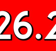 MARATHON 26.2 RUNNING WALKING JOGGING GOOD GIRLS DO GO ALL THE WAY 13.1 5K  10K Sticker