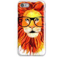 Monsieur Geek Lion iPhone Case/Skin