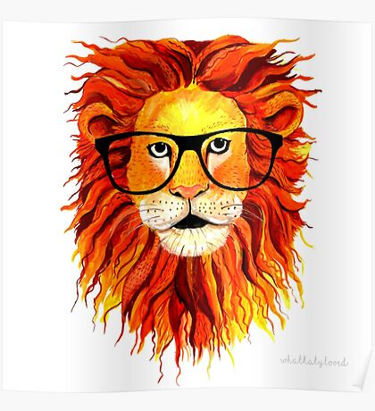 Monsieur Lion - For all my geeks out there Poster