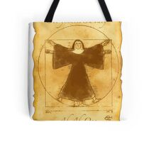Vitruvian Nun Tote Bag