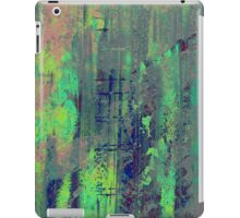 Aqua Abstract iPad Case/Skin