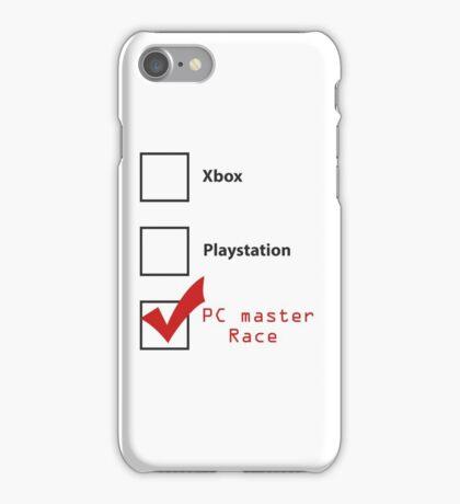 PC Master Race 2 iPhone Case/Skin