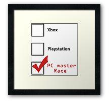 PC Master Race 2 Framed Print