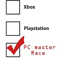 PC Master Race 2 Photographic Print