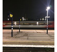 Night train Photographic Print