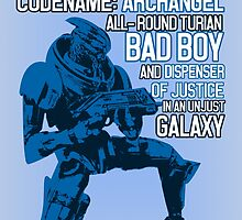 All-round Turian Bad Boy by nimbusnought