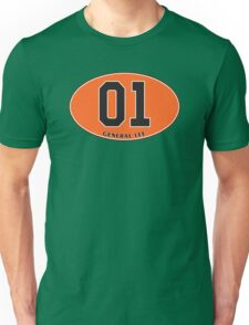 General Lee - Euro Sticker Unisex T-Shirt