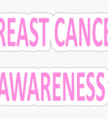 Breast Cancer Awareness - October - Yearl Round - Everyday Sticker