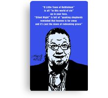 Penn Jillette Atheist Christmas Canvas Print