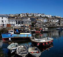 Mevagissey, Cornwall by rodsfotos